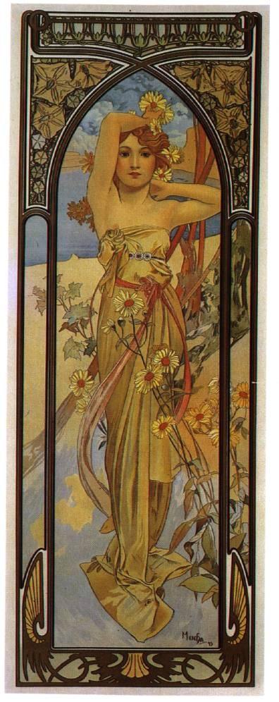 Работы художника Alphonse Mucha (72 работ)