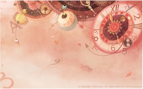 Kim Min Ji - Alice in Wonderland (Illustrations) (25 работ)