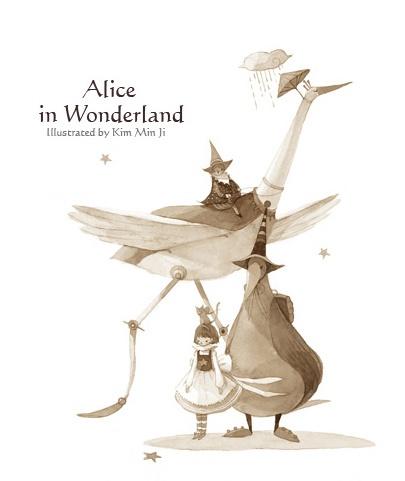 Kim Min Ji - Alice in Wonderland (Illustrations) (25 работ)