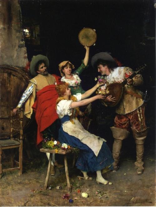 Federico Andreotti (1847-1930) (23 работ)