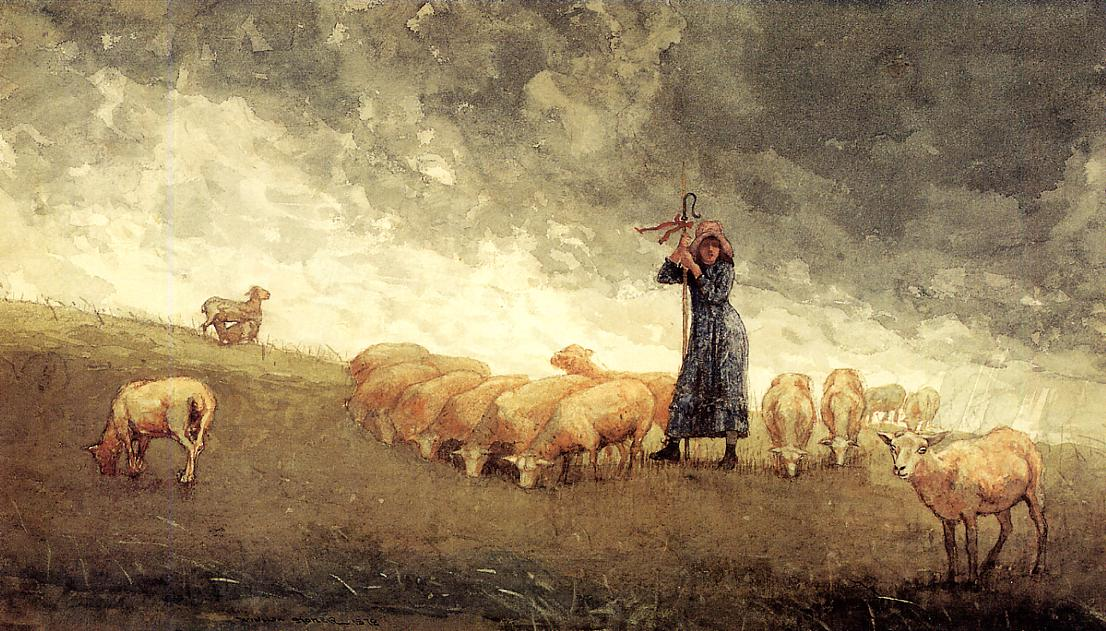 a comparison of paintings between homer winslow and jules breton Need writing essay about homer winslow and jules breton a comparison of homer and hesiod people who saw these paintings called them thebarefoot boys.