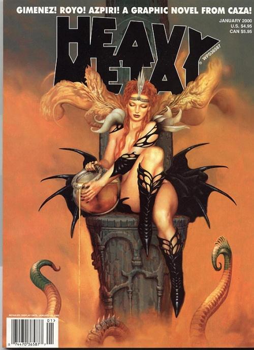 Heavy Metal Magazine Covers (118 фото)