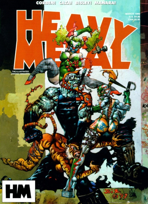 Heavy Metal Magazine Covers (118 фото)