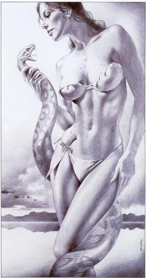 170 сканов работ Бориса Вальехо (Boris Vallejo) в высоком разрешении (90 фото) (1 часть)