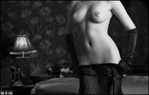 Красивое НЮ от YanMcLine part 2 (48 фото) (эротика)