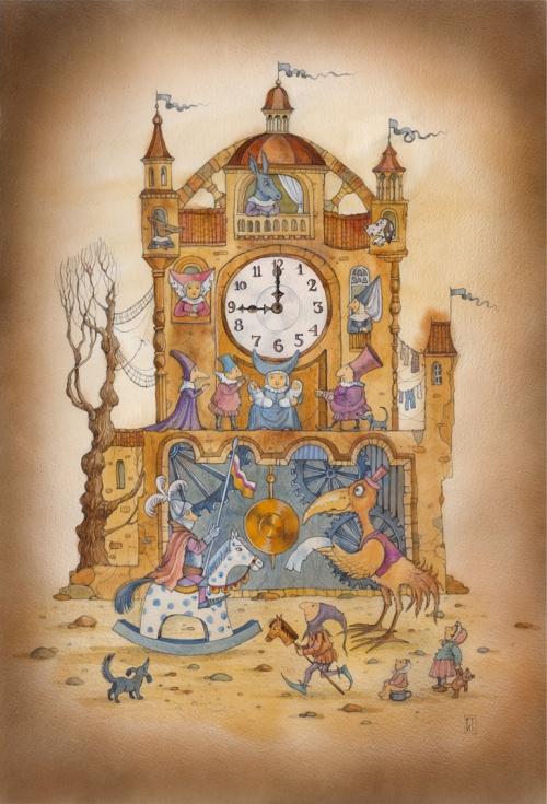 Иллюстрации к сказкам от Ирины Андреевны Петелиной (42 работ)