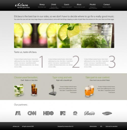 Web Design Inspiration (44 фото)