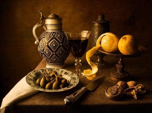 Натюрморты в стиле средневековья от 'Kevsyd' (20 работ)