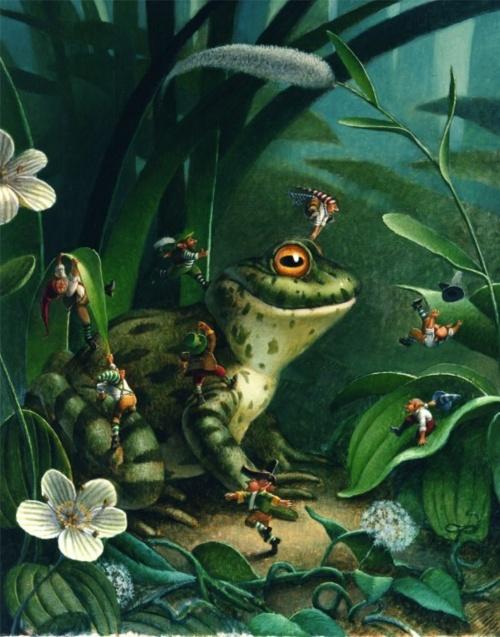 Детские иллюстрации от Jon Goodel (31 работ)