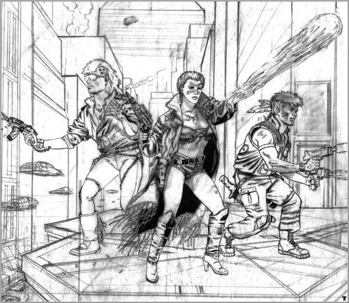 Рисунки Ларри Элмора (198 работ)
