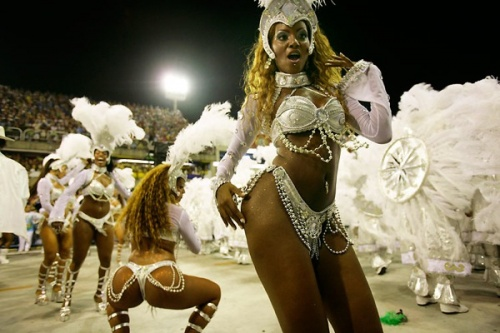 Бразильский карнавал в Рио-де-Жанейро 2009 года (48 фото)