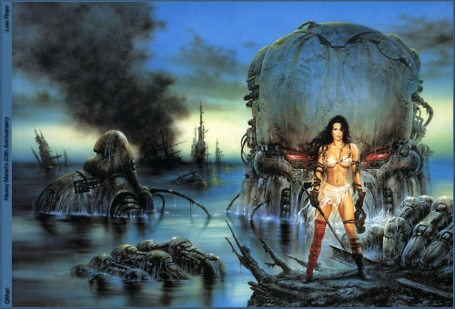 Fantasy Art Collection (LUIS ROYO) vol.4  (308 работ)