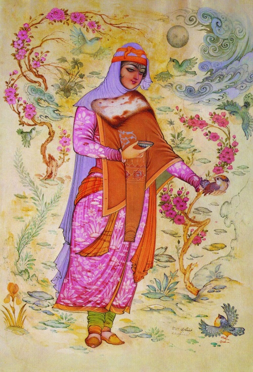 Persian (Iran) Miniature (часть 1) (35 работ)