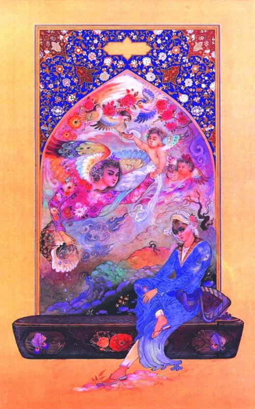 Persian (Iran) Miniature (часть 1) (35 работ)