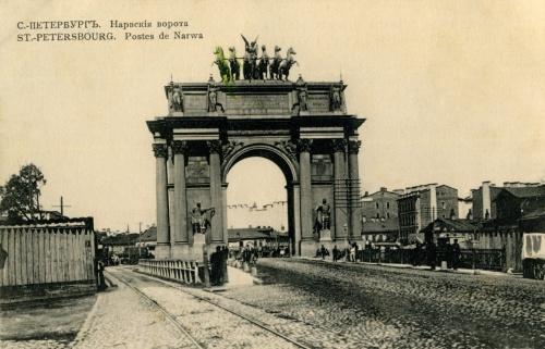 Старинные гравюры с видами Санкт-Петербурга (42 фото)