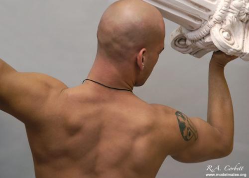 Фотограф Raymond Corbett. Мужчины - модели (25 фото)