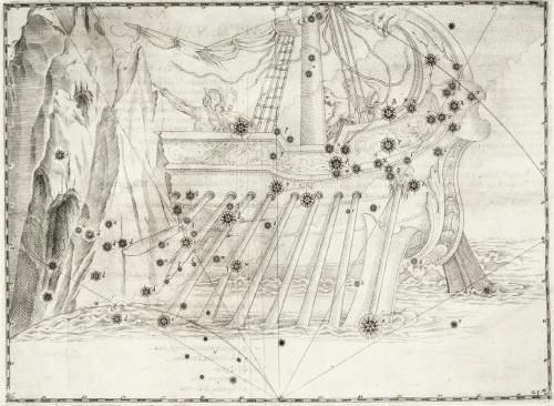 """Атлас звездных карт """"Уранометрия"""" Иоганна Байера (51 фото)"""