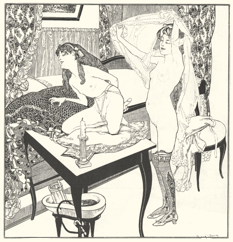 Старые эротические картины 14 фотография