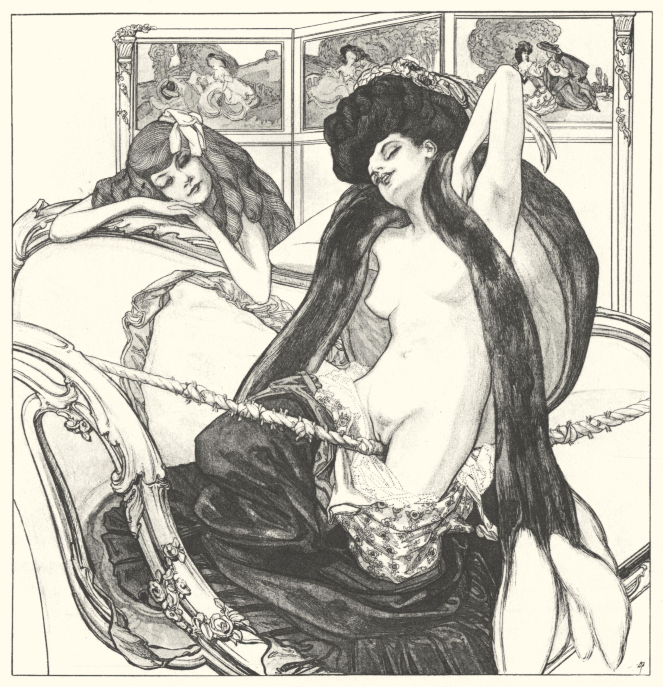 Эротические средневековые картинки 26 фотография