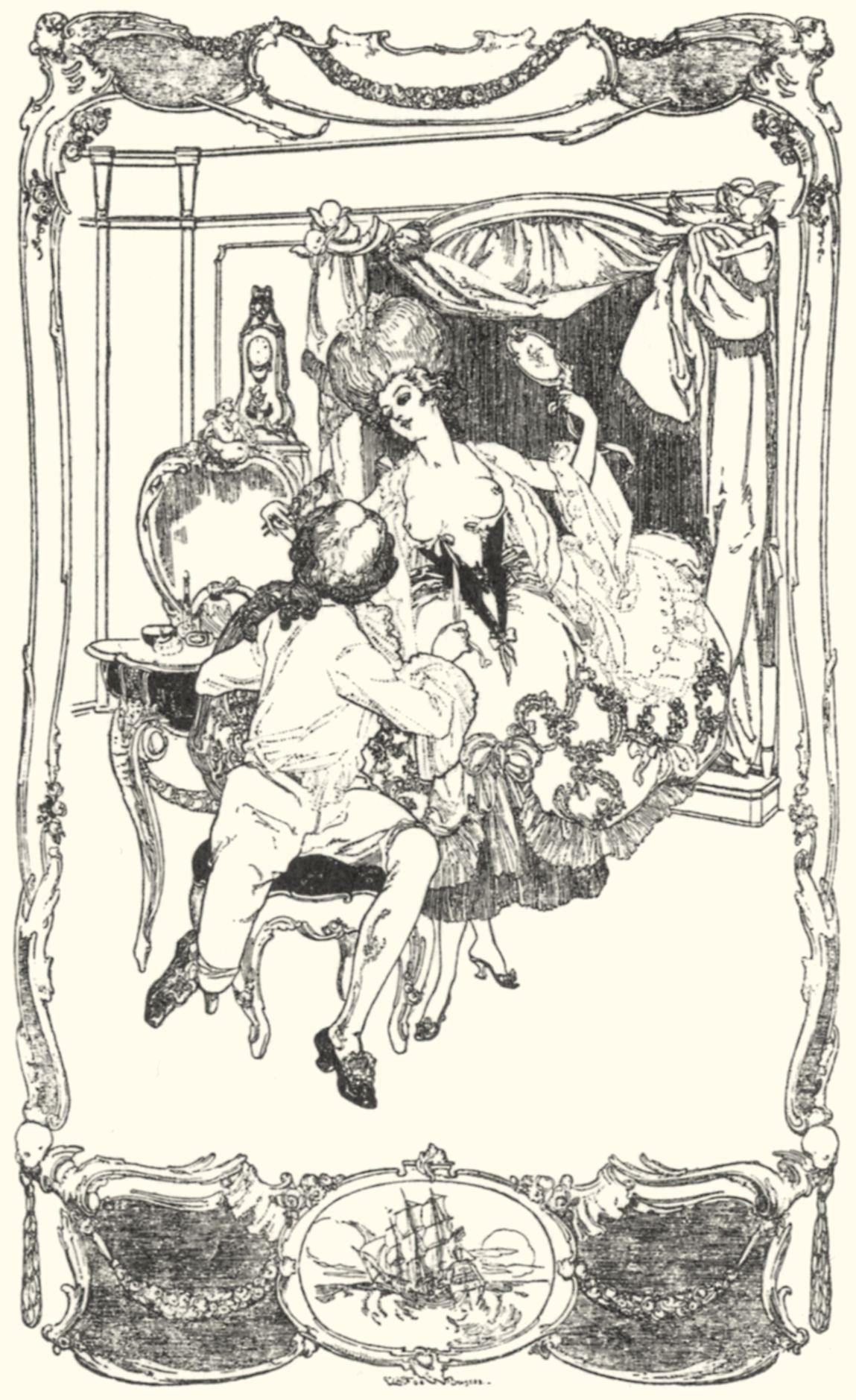 Старинная эротическая гравюра 11 фотография