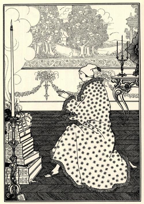 Завораживающий Обри Бердслей (Aubrey Beardsley) (116 работ)