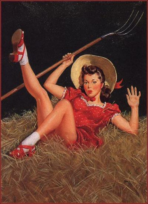 History Pin-Up. Al Buell (1910 - 1996) (24 работ)