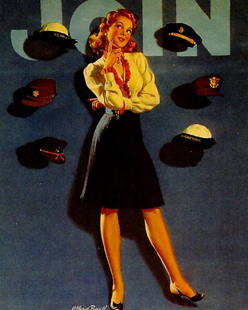 History Pin-Up. Al Buell (1910 - 1996) (24 работ)