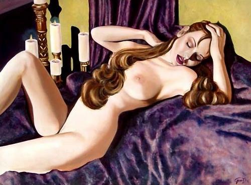 Девушки в стиле пин-ап от Jessica Dougherty (27 работ)