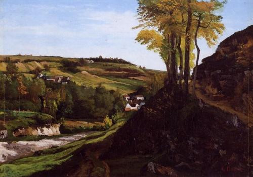 Шедевры импрессионизма. Гюстав Курбе  (160 работ)