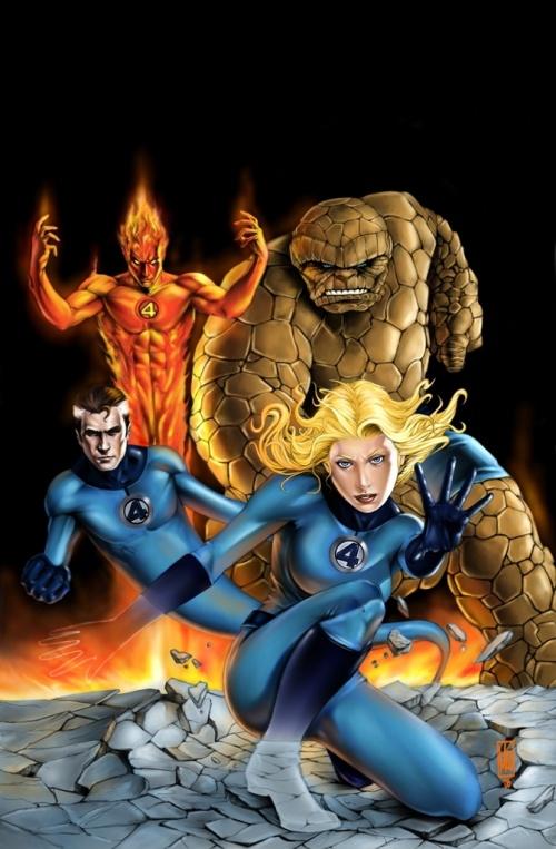 Best superhero illustrations (41 работ)