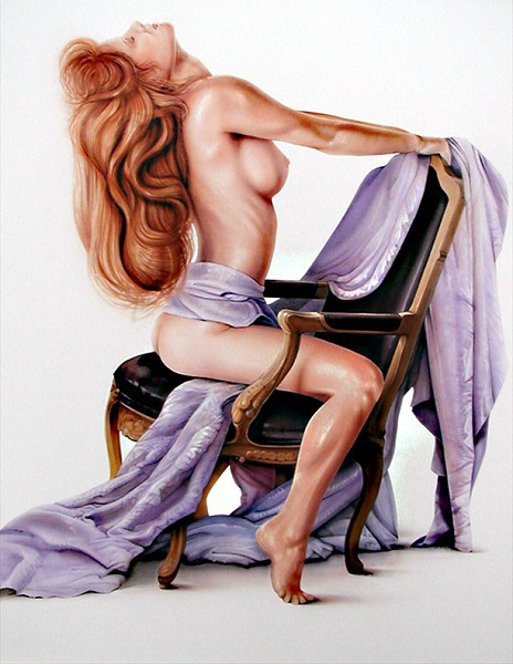 История Pin-Up. Michael Calandra (28 работ)