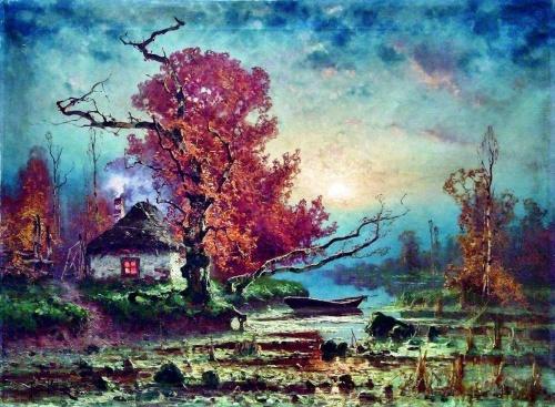 Клевер Юлий Юлиевич - живописец-пейзажист (64 работ)