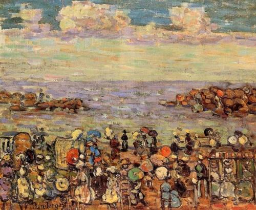 Шедевры импрессионизма. Прендергаст Морис Базиль (127 работ)