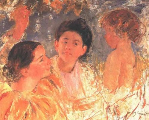 Шедевры импрессионизма. Мэри Кассат (286 работ)