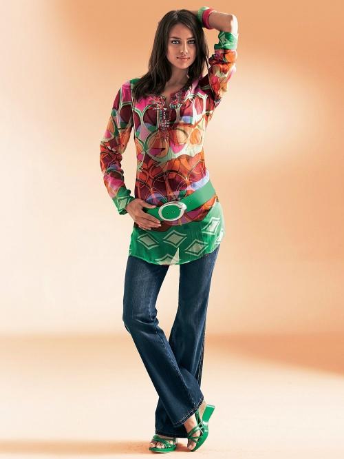 Irina Sheik | Heine's 2009 Catalog Photoshoot (61 фото)