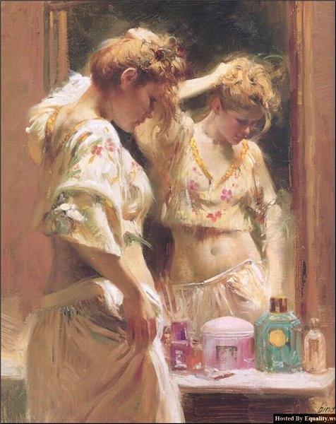 Pino Giuseppe Dangelico - итальянский художник (46 работ)