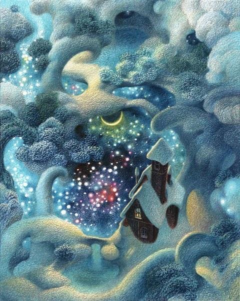 Рисунки Олега Майорова (12 работ)