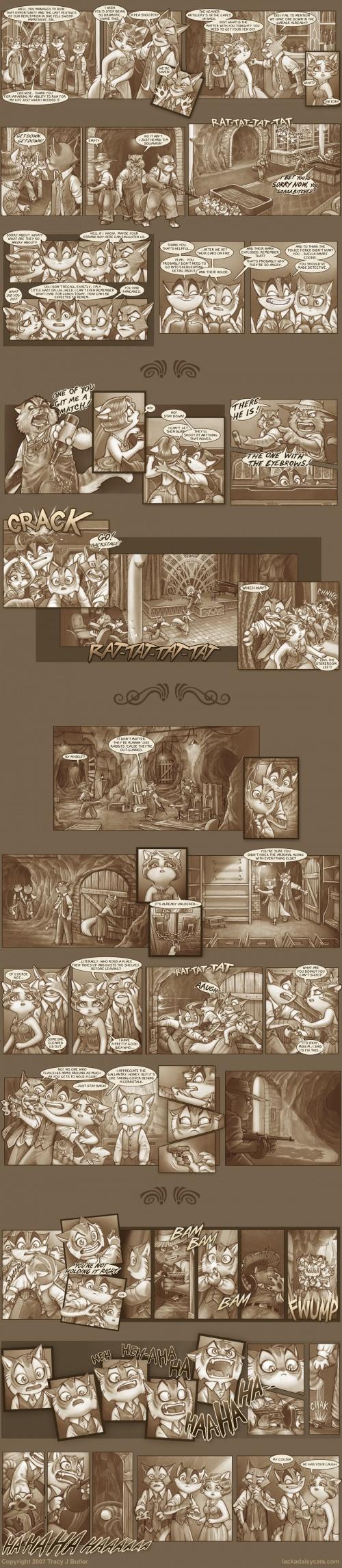 Иллюстрации Lackadaisy (27 работ)