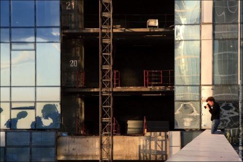 Вид на Москву с высоты 77 этажа (21 фото)