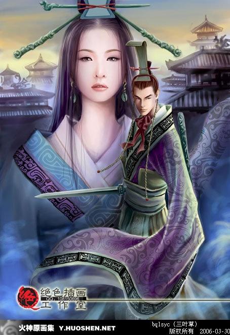 Романтика иллюстраций Qianyu (133 работ)