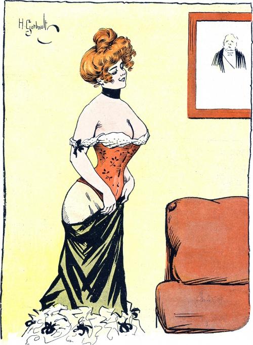Французский художник и иллюстратор Анри Жербо (13 работ)