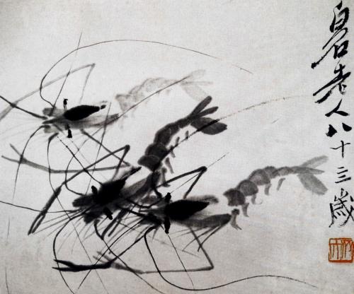 Ци Байши - коллекция картин китайского художника в стиле сеи (126 работ)