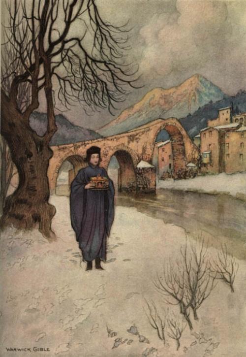 Викторианский художник-иллюстратор Warwick Goble (71 работ)