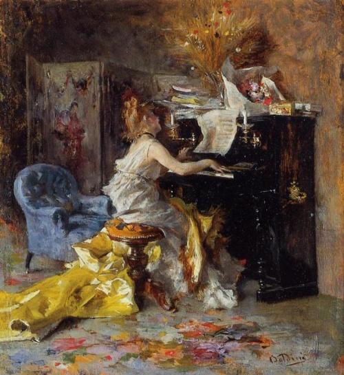 Джованни Болдини (Boldini Giovanni) (1842-1931) (119 работ)