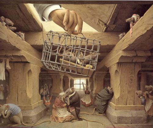 "Roberto Innocenti. Иллюстрации к ""Щелкунчику"" (30 работ)"