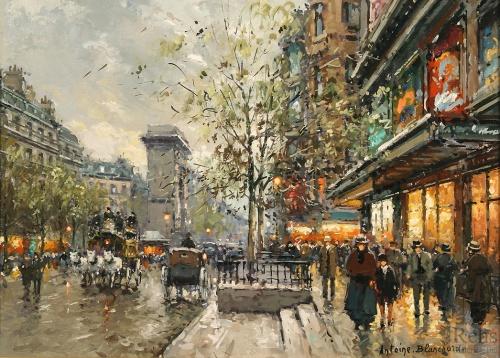 Antoine Blanchard - французский художник (76 работ)