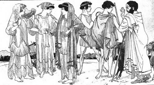 История костюма: Рим и Греция (8 работ)