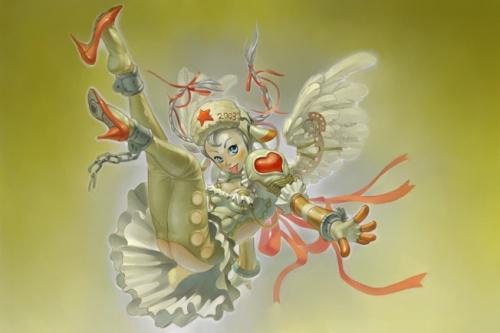 Тошияки Такаяма (Toshiaki Takayama) - японский художник иллюстратор (113 работ)