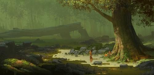 Ruan Jia - Жуан цзя - китайский художник (35 работ)