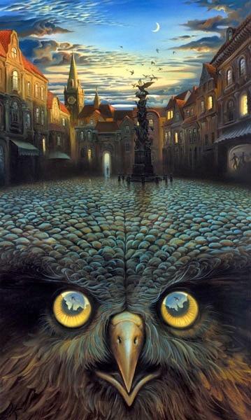 Владимир Куш - русский сюрреализм (182 работ)